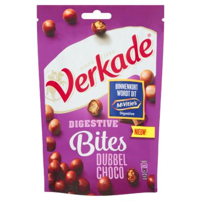 Verkade Digestive Bites Dubbel Choco 120 g