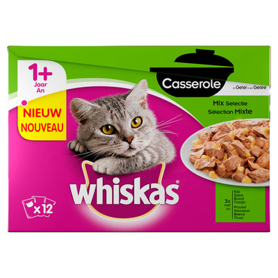 Whiskas Casserole adult mix selection