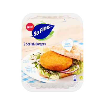 SoFine SoFish Burgers
