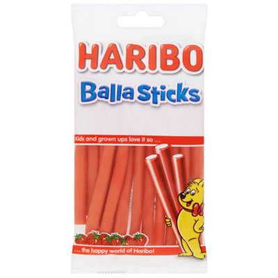 Haribo Balla sticks aardbei