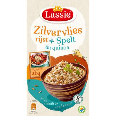 Lassie Zilvervliesrijst spelt-quinoa