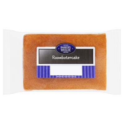 Bakkers Weelde Roombotercake Naturel 450 g