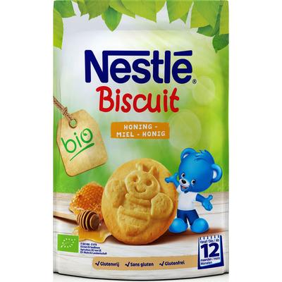 Nestlé Biscuit honing biologisch 12 mnd
