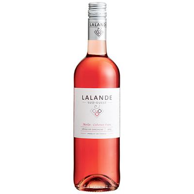 Lalande Merlot Cabernet rosé 75 cl.