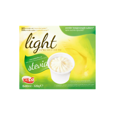 Ysco Light Vanilla Ice Cream