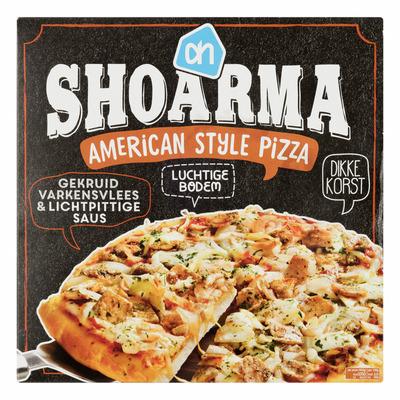 Huismerk Amerikaanse pizza shoarma