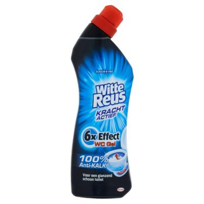 Witte Reus Kracht Actief Gel 100% Anti-Kalk Toiletreiniger 750 ml