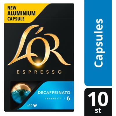 L'Or Espresso decaffeinato sterkte 6