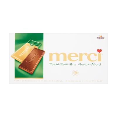 Merci Chocolade Tablet Amandel-Hazelnoot