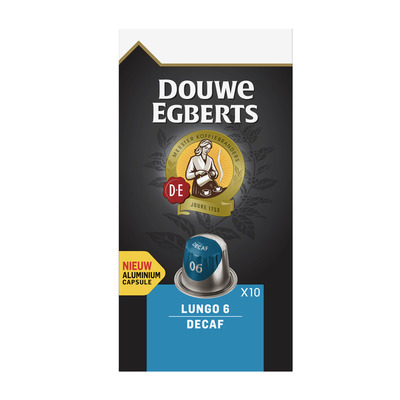Douwe Egberts Capsules lungo 6 decaf