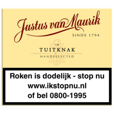 Justus van Mourik Sigaren tuitknak 10