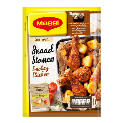 Maggi Braadstomen smokey chicken