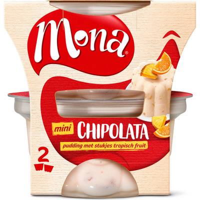 Mona Pudding chipolata duoverpakking
