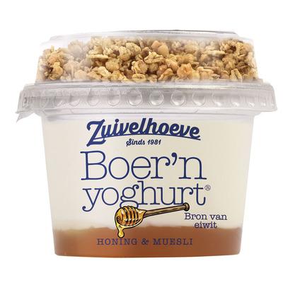 Zuivelhoeve Boer'n muesli honing