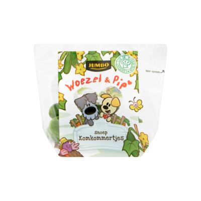 Huismerk Woezel & Pip Snoep Komkommertjes