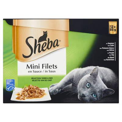 Sheba Mini filet in saus