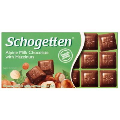 Schogetten Hazelnoot chocoladereep