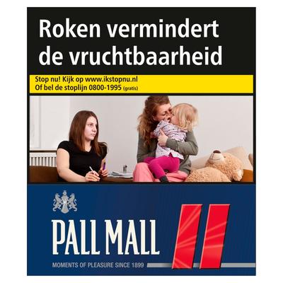 Pall Mall Red XXL 27 Stuks