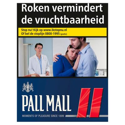 Pall Mall Red XXL 29 Stuks