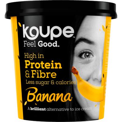 Koupe Proteineijs banaan