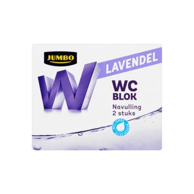 Jumbo WC Blok Lavendel Navulling