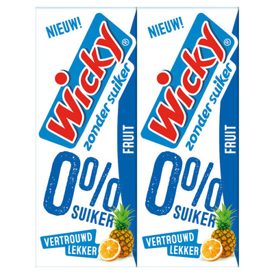 Wicky Fruit zonder suiker