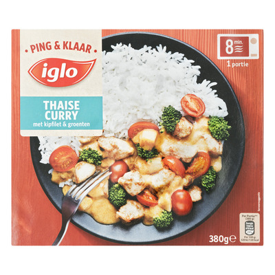 Iglo Ping & Klaar lasagnette met sperziebonen