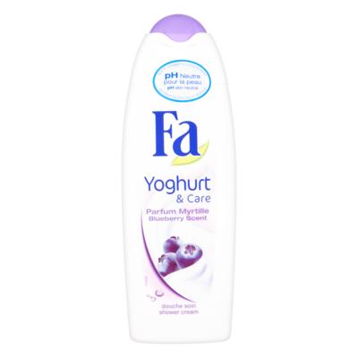 Fa Shower Cream Yoghurt & Care Blueberry