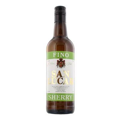 San Lucar  Sherry Vino Pale Dry