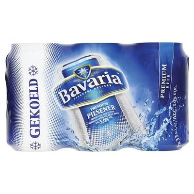Bavaria Pils Blik 6 -Pack  Cool