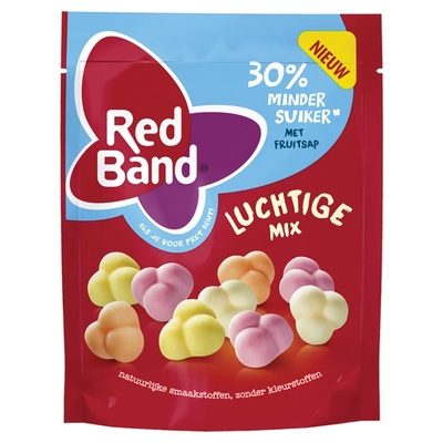 Red Band Luchtige Winegum Mix