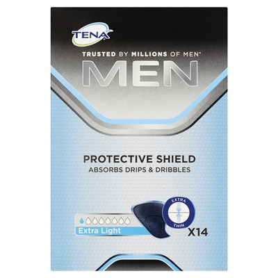 Tena Men Incontinentie Inlegkruisjes Protective Shield Extra Light