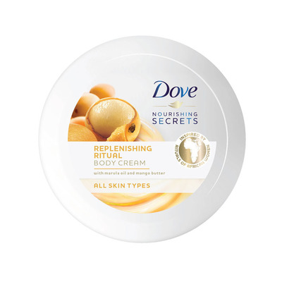 Dove Body butter marula olie & mango
