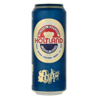 Holtland bier blik 50 cl.
