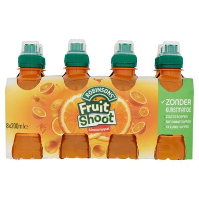 Robinsons Fruit Shoot Sinaasappel 8 x 200 ml