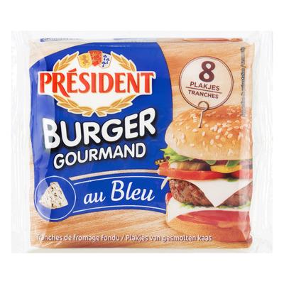 Président Burger gourmand au bleu