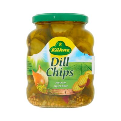 Kühne Dill Chips Zoetzuur