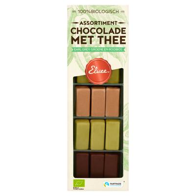 Elvee Chocolade met Thee Biologisch 155 g