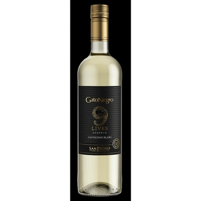 Gato Negro 9 lives Sauvignon Blanc Reserve 2016