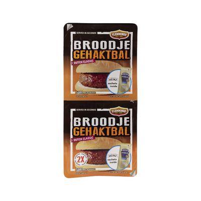 Flemming's 2 Broodjes Gehaktbal Voordeelverpakking