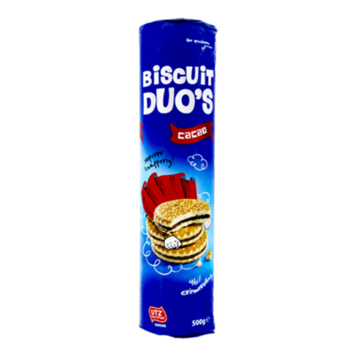Continental Bakeries Sandwich biscuit duo chocolade