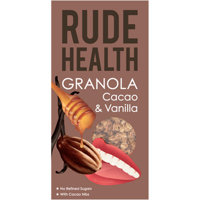Rude Health Granola cacao & vanilla
