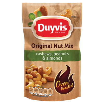 Duyvis Notenpindamix Original Nut Mix Cashews Peanuts & Almonds 125g