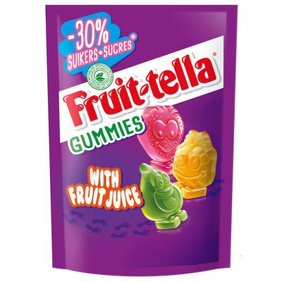 Fruittella Gummies -30% suiker