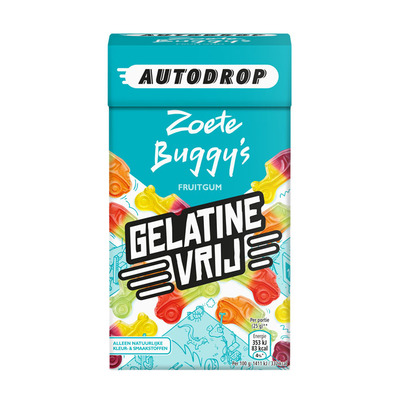 Autodrop Zoete buggy's mixdoos gelatinevrij