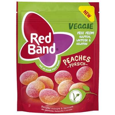 Red Band Veggie perziken
