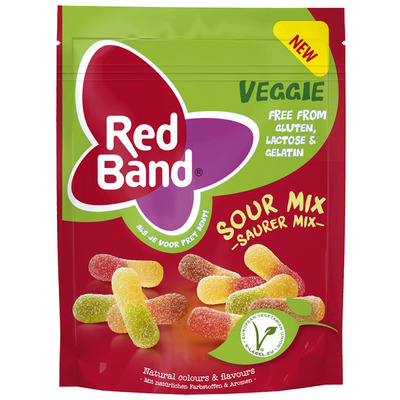 Red Band Veggie zure mix