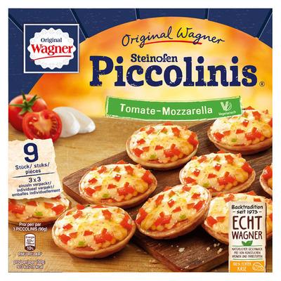 Wagner Piccolinis tomaat-mozzarella