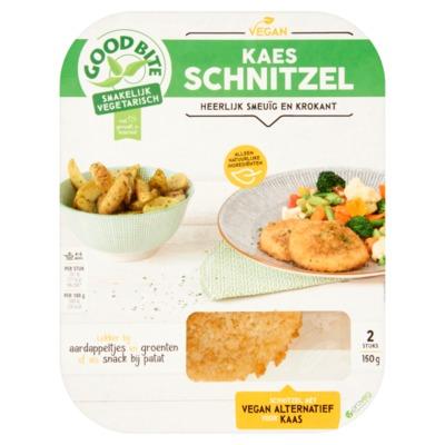 GoodBite Vegan Kaesschnitzel 2 Stuks