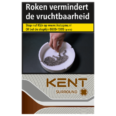 Kent Sigaretten surround silver